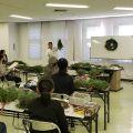 クリスマスリースづくり講座を開催しました!