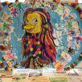 五月が丘保育園の園児の皆さんの作品を展示してます!